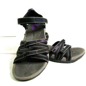 TEVA TIRRA  ACTIVE  Walking/Hiking Sandals Sz 10